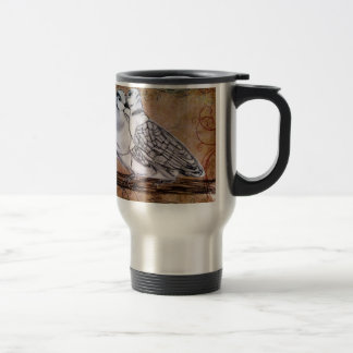 Two Turtle Doves 15 Oz Stainless Steel Travel Mug