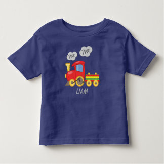 Two Two Train Toddler T-shirt