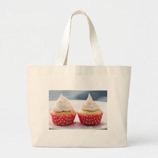 Two Vanilla Cupcakes Cloth Shopping Bag
