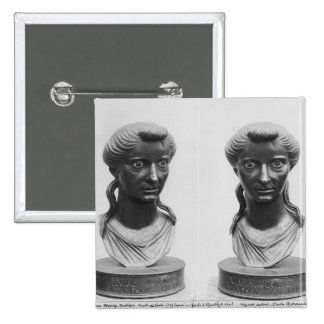 Two views of a bust of Livia Pins