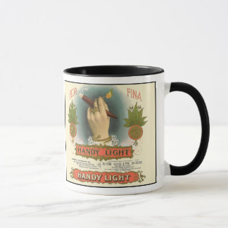 Two Vintage Cigar Labels Side by Side Mug