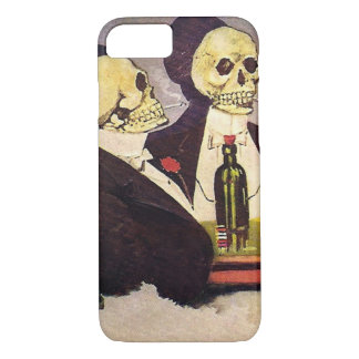 Two Vintage Skeletons iPhone 8/7 Case