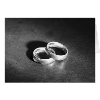 Two Wedding Bands Card