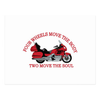 Two Wheels Postcard