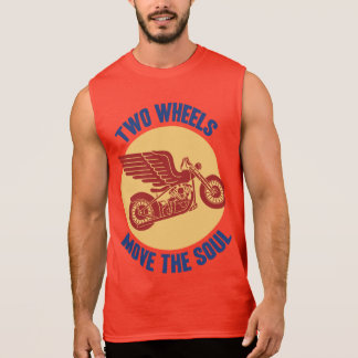 Two Wheels Sleeveless Shirt