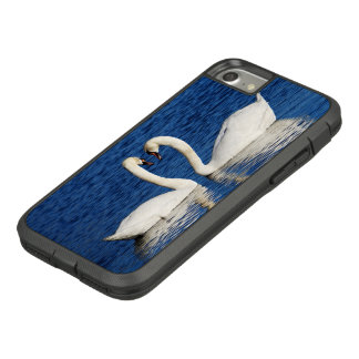 Two White Swans Form Heart Sign Case-Mate Tough Extreme iPhone 8/7 Case