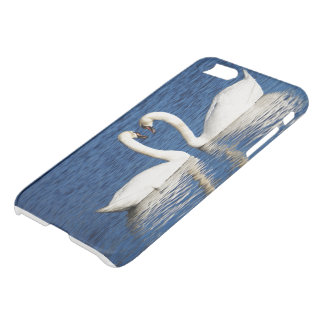 Two White Swans Form Heart Sign iPhone 8/7 Case
