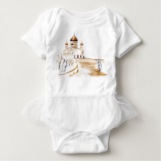 Two wiseman baby bodysuit