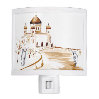 Two wiseman night light
