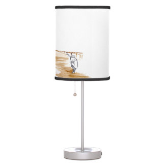 Two wiseman table lamp