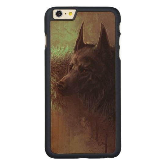 two wolves - painting wolf carved® maple iPhone 6 plus case