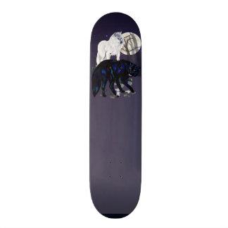 Two Wolves Skateboard