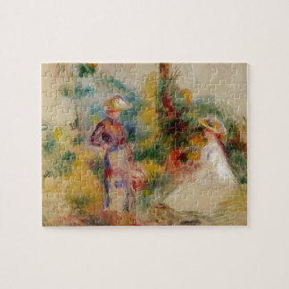 Two Women in a Garden by Kazimir Malevich Jigsaw Puzzle
