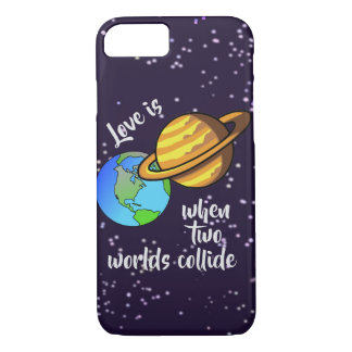 Two Worlds Collide Case-Mate iPhone Case