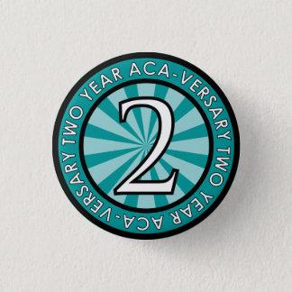 Two Year Aca-Versary Collectible Pin