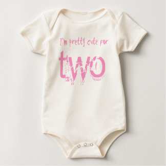 Two Year Old 2nd Birthday Gift V008 Baby Bodysuit