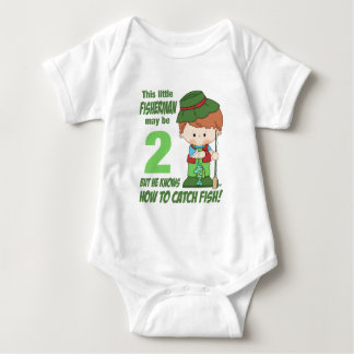 two year old fisherman baby bodysuit