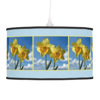 Two yellow Daffodils 2.2.3 Pendant Lamp