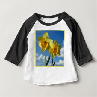 Two yellow Daffodils 2.2 Baby T-Shirt