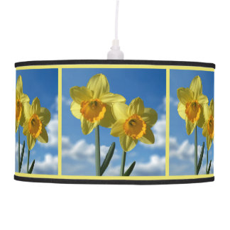 Two yellow Daffodils 2.2 Pendant Lamp