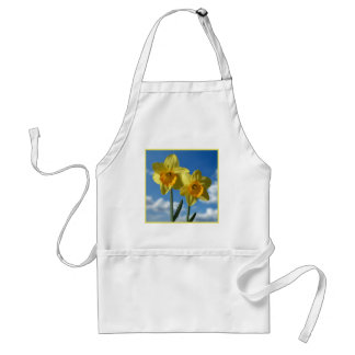 Two yellow Daffodils 2.2 Standard Apron