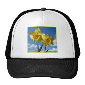 Two yellow Daffodils 2.2 Trucker Hat
