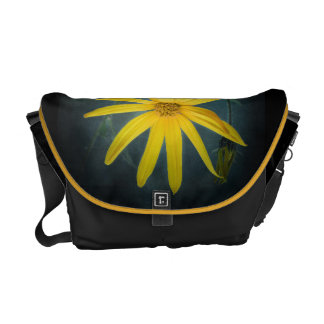 Two yellow flowers of Jerusalem artichoke Commuter Bag