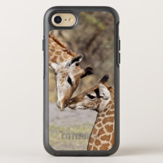 Two Young Giraffes OtterBox Symmetry iPhone 8/7 Case