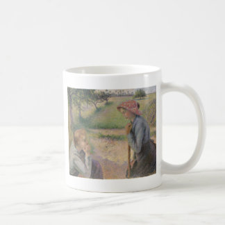 Two Young Peasant Women Coffee Mug