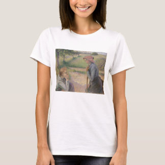 Two Young Peasant Women T-Shirt