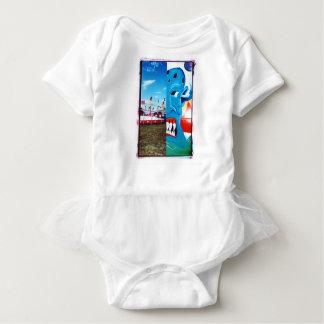 TwoFace Fair Photo Baby Bodysuit