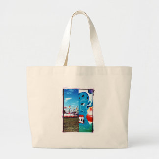 TwoFace Fair Photo Large Tote Bag