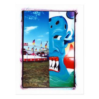 TwoFace Fair Photo Postcard