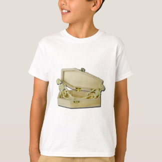 TwoSkeletonsInCoffin070315 T-Shirt