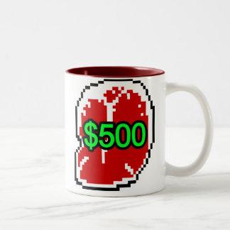 TwoTone $500 Steak Mug