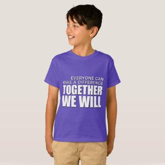 TWW Kids Tagless Tee Purple