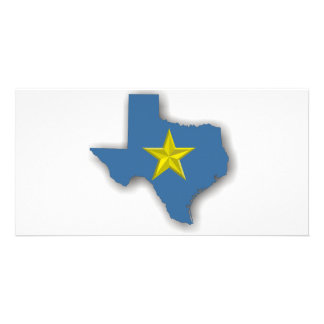 TX - A Blue State! Picture Card