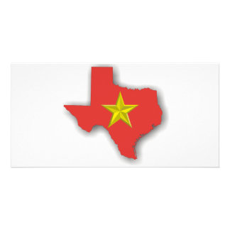 TX a Red State Photo Greeting Card