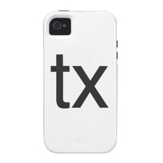 tx.ai case for the iPhone 4