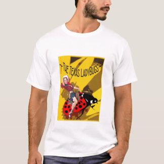 TX LadyBugs Logo/2010 Sponsors White T T-Shirt