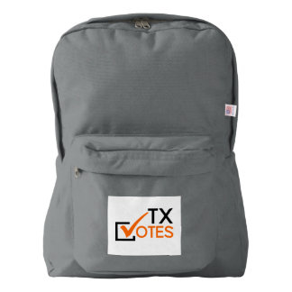 TX Votes Backpack