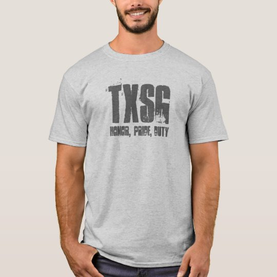 TXSG, Honour, Pride, Duty-pt shirt