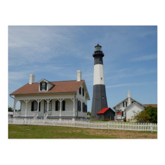 Tybee Island Georgia Lighthouse Postcard
