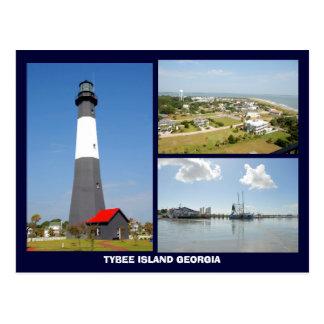 Tybee Island, Georgia Postcard