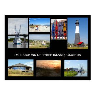 Tybee Island Georiga Postcard
