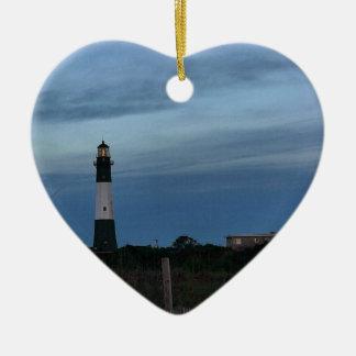 Tybee Island Light House Savannah, GA Ceramic Ornament