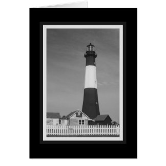 """Tybee Island Lighthouse"" Card"
