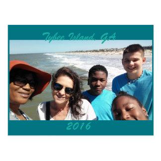 Tybee Island Vacation Postcard