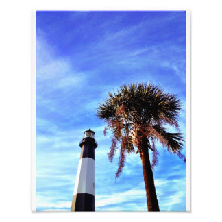 Tybee Lighthouse with Palmetto Art Photo