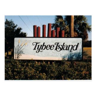 Tybee Postcard